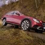 Mercedes E-Class All-Terrain выезжает на бездорожье, первые видео