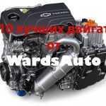 Топ-10 лучших двигателей по версии WardsAuto в 2017 году
