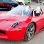 Китайский клон Pagani Huayra мощностью в 4 л.с.