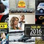Лучшие статьи 2016 года от 1GAI.RU