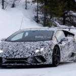 Lamborghini Huracan Superleggera поймали во время тестов