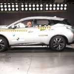 Nissan Murano получил «двойку» в краш-тесте Latin NCAP