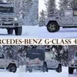 Мерседес готовит версию пикап для своего G-Class 4×4?