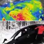 Что происходит с замороженным двигателем: Взгляд с помощью тепловизионной камеры