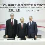 Audi начнет выпускать электромобили в Китае