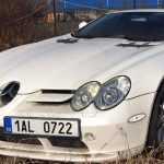 В Чехии обнаружен брошенный Mercedes-Benz SLR McLaren