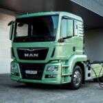 Представлен электрический грузовик MAN