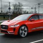 Электрокроссовер Jaguar I-Pace впервые проехал по улицам Лондона