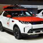 Land Rover Discovery для Красного Креста укомплектовали дроном на крыше