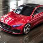 Mercedes-Benz представил прототип Concept A Sedan