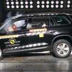 Skoda Kodiaq получила 5 звезд в краш тестах EuroNCAP
