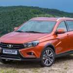 Лада показала фотографии двух новых моделей: универсалов Lada Vesta SW Cross и Lada Vesta SW