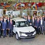 Кроссовер Škoda Karoq встал на конвейер в Чехии
