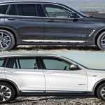 Сравнение 2018 BMW X3 с моделью 2016 года