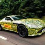 Закамуфлированное купе Aston Martin Vantage нового поколения показали на фото
