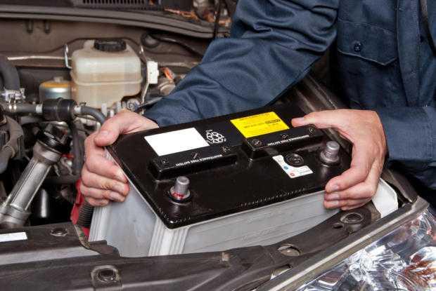 Конструкция аккумулятора для автомобиля