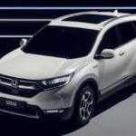 Honda показала гибридный CR-V для Европы