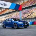«Заряженный» BMW M5 установил первый рекорд в Шанхае