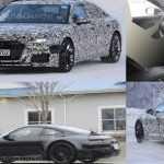 Шпионские фотографии двух новинок 2019 года: Porsche и Audi
