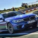 Тест BMW M5 2018 модельного года