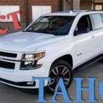 Обзор Chevrolet Tahoe RST 2018