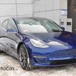 Первый в Украине Tesla Model 3 показали в Киеве