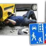 7 штрафов, которые водитель может получить во дворе