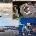 Насколько опасен взрыв колеса грузовой машины: примеры