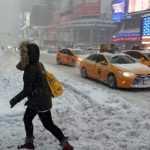 Кто сказал что в Америке лучше: Снегопад в США