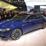 2017 Lincoln Continental готов к производству