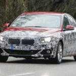 Седан BMW 1-Series лишился части камуфляжа