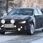 Kia Optima Sportswagon замечен во время тестов