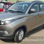 Mahindra KUV100 выглядит непропорционально