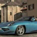 Alfa Romeo Disco Volante «разделась» для Женевы