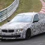 2017 BMW M5 замечен во время тестов