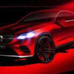 Новый тизер Mercedes GLC Coupe