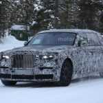 Rolls-Royce Phantom 2018 на шпионских фото