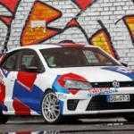 Тюнингованный Volkswagen Polo R WRC Street