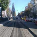 В субботу начнётся продолжительный ремонт бульвара Тараса Шевченко