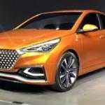 Следующий Hyundai Solaris показан в виде концепта