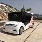 В Монако показали прототип украинского электромобиля Synchronous