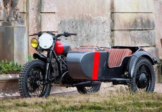 Британский тюнинг мотоцикла «Урал»
