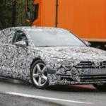 Audi A8 2018 впервые попался фотошпионам