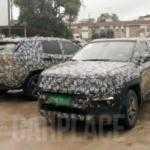 Свежие шпионские фото нового кроссовера Jeep