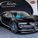 Bugatti Chiron «феерил» в Гудвуде