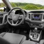 Свежие фото интерьера Hyundai Creta