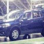 Появились шпионские фото обновленного Suzuki SX4