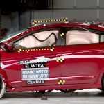 Модель Хендаи Элантра 2017 модельного года получила Pick IIHS Top Safety +