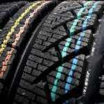 Цветная маркировка на автомобильных шинах