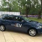 АвтоВАЗ показал электромобиль Lada Vesta EV